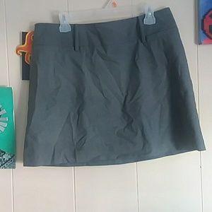Express | Gray Mini Dress Skirt